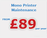mono printer maintenance Kingston Upon Hull