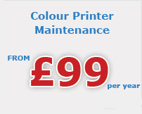 colour printer maintenance Stone